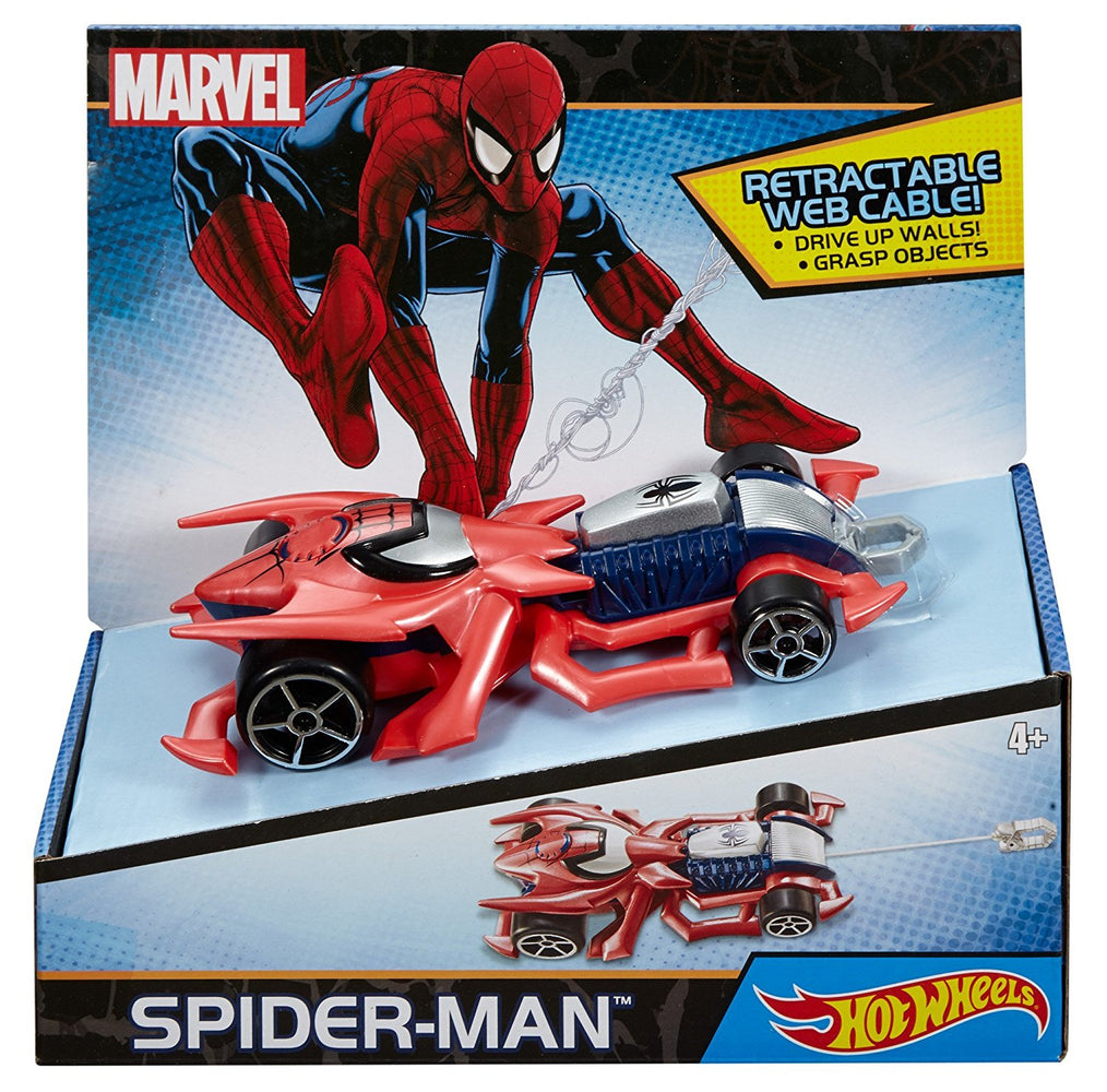 Hot Wheels Marvel Spider Man Vehicle DNG12