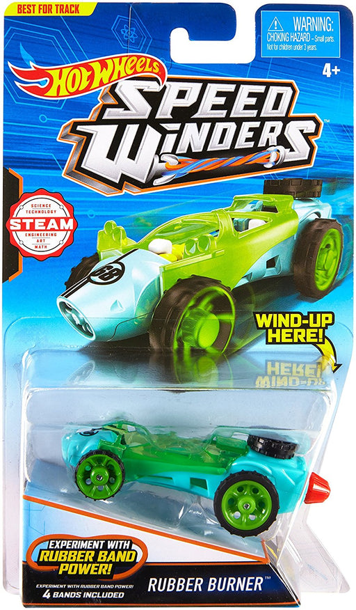 Hot Wheels Speed Winders Rubber Burner DPB71