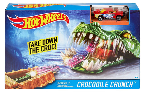 Hot Wheels Take Down The Crocodile Crunch DWK96