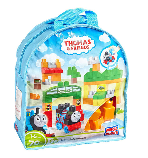 Mega Bloks Thomas Sodor Adventures Building Bag