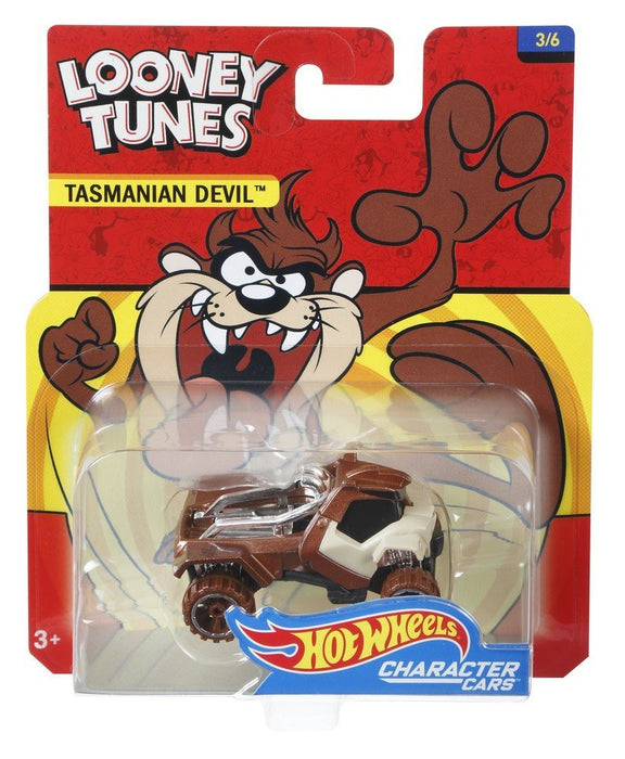 Hot Wheels Looney Tunes Tasmanian Devil Vehicle DXT11