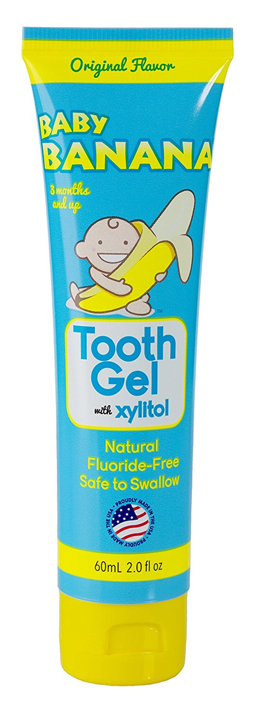Baby Banana Tooth Gel, 2 Ounce Original Flavor
