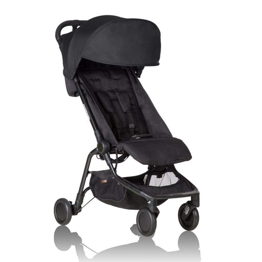 Mountain Buggy Nano Compact Light Weight Stroller - Black