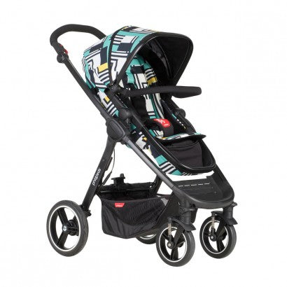 Phil&Teds Mod Buggy Stroller - Abstract