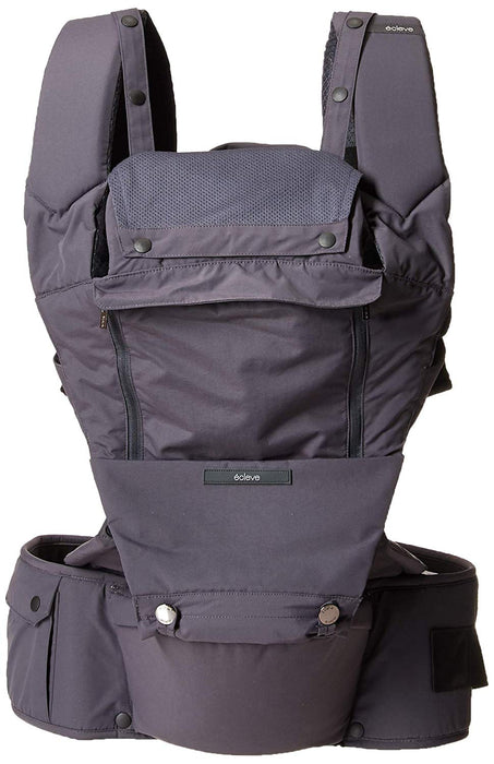 ÉCLEVE Pulse Ultimate Comfort Hip Seat Baby & Child Carrier - Charcoal Grey