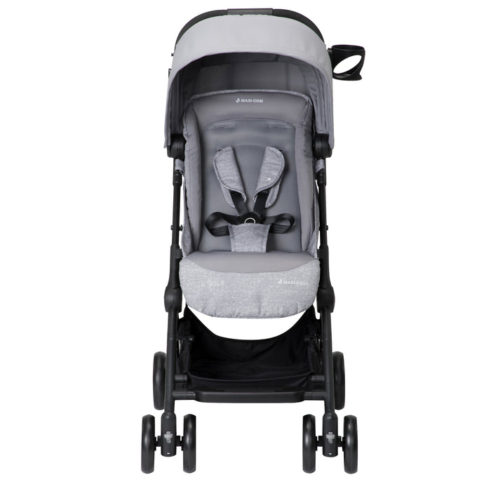 Maxi-COSI Lara Ultra Compact Stroller, 14 lb, One Hand Fold & Unfold, Nomad Grey