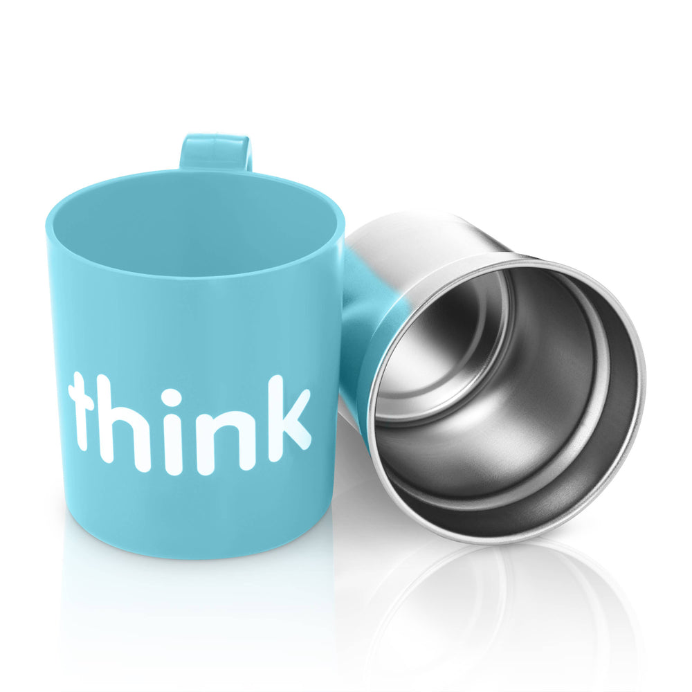 Thinkbaby & Thinksport - BPA Free The Think Cup -  Lt Blue