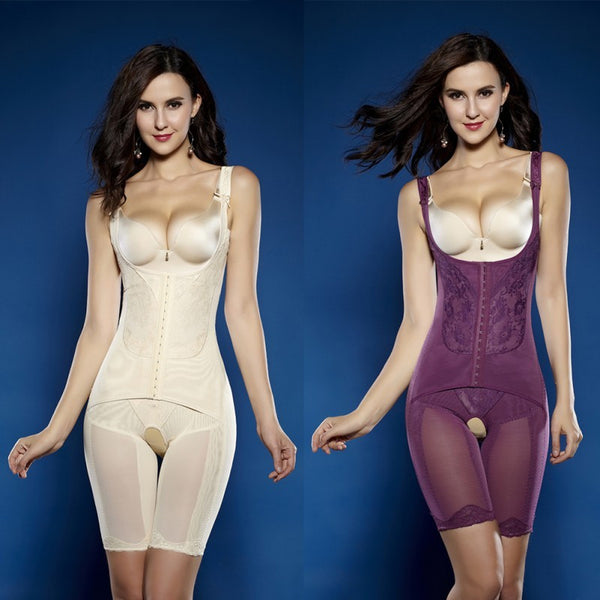 NUDE MID THIGH FULL BODY SHAPER
