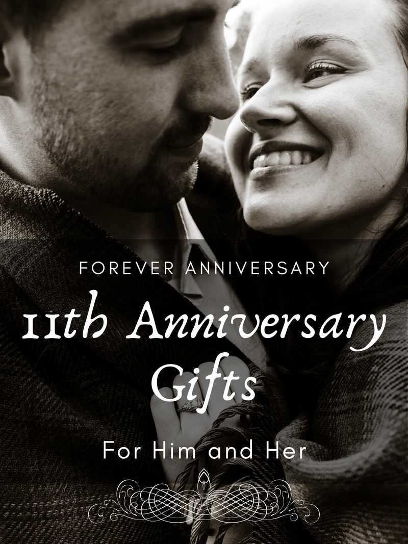 11th Anniversary Gifts for Him and Her