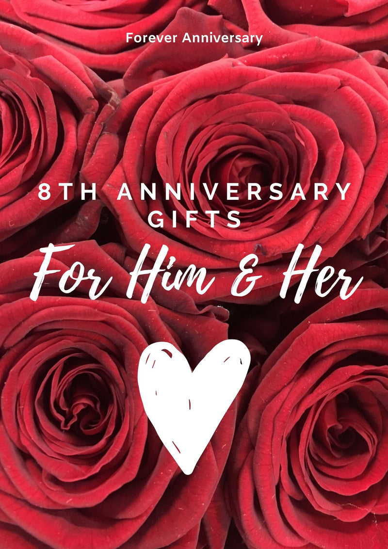 8th Anniversary Gifts for Him and Her