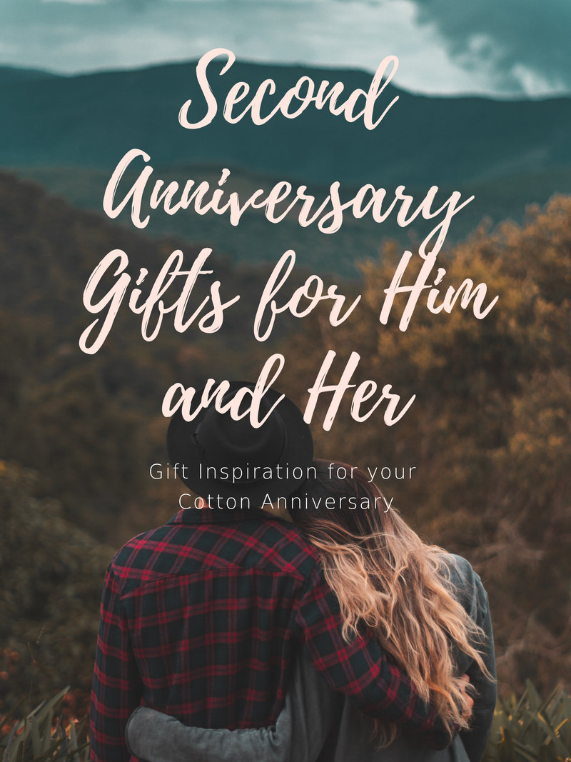 2nd Anniversary Gifts for Him and Her