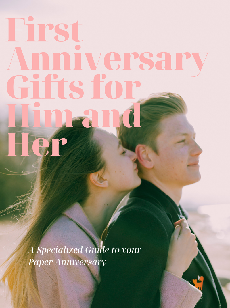 1st Anniversary Gifts for Him and Her