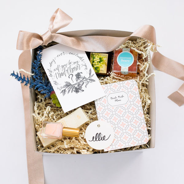 bridal party gift box