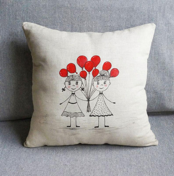 bridesmaid pillow