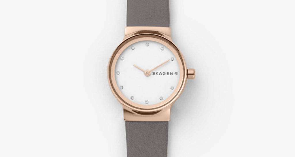 Leather Anniversary Gift Women's Watch