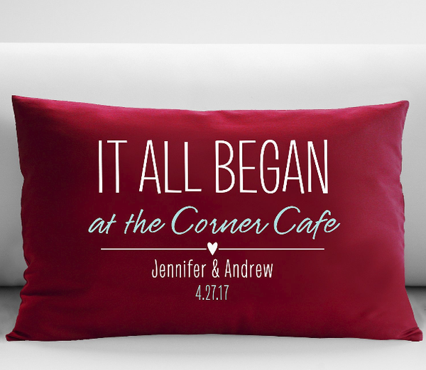 where it all began ruby pillow