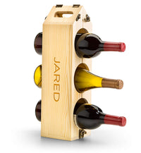 Convertible Wine Rack- Personalized Portable Wine Carrier