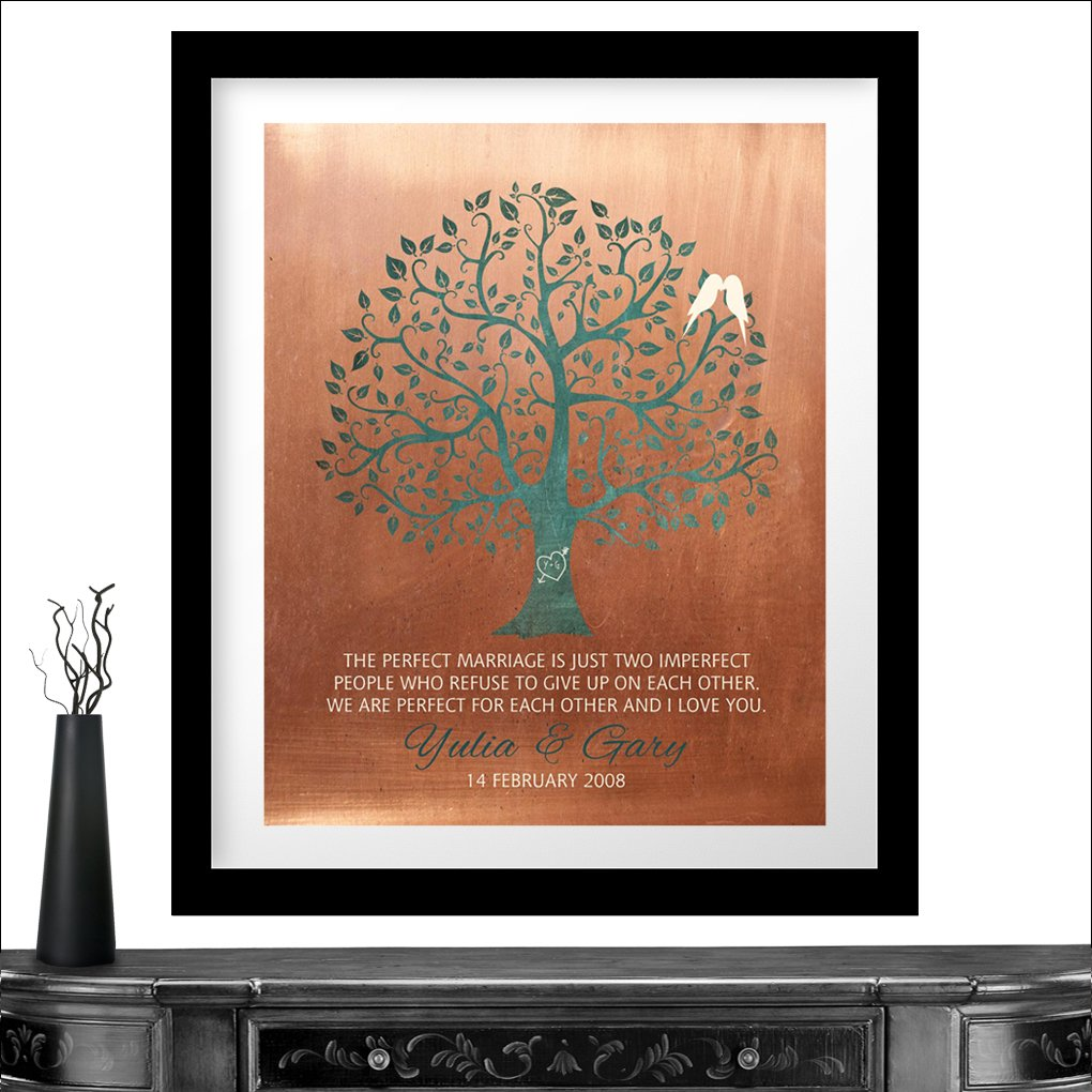 Copper Art- Personalized Art Print
