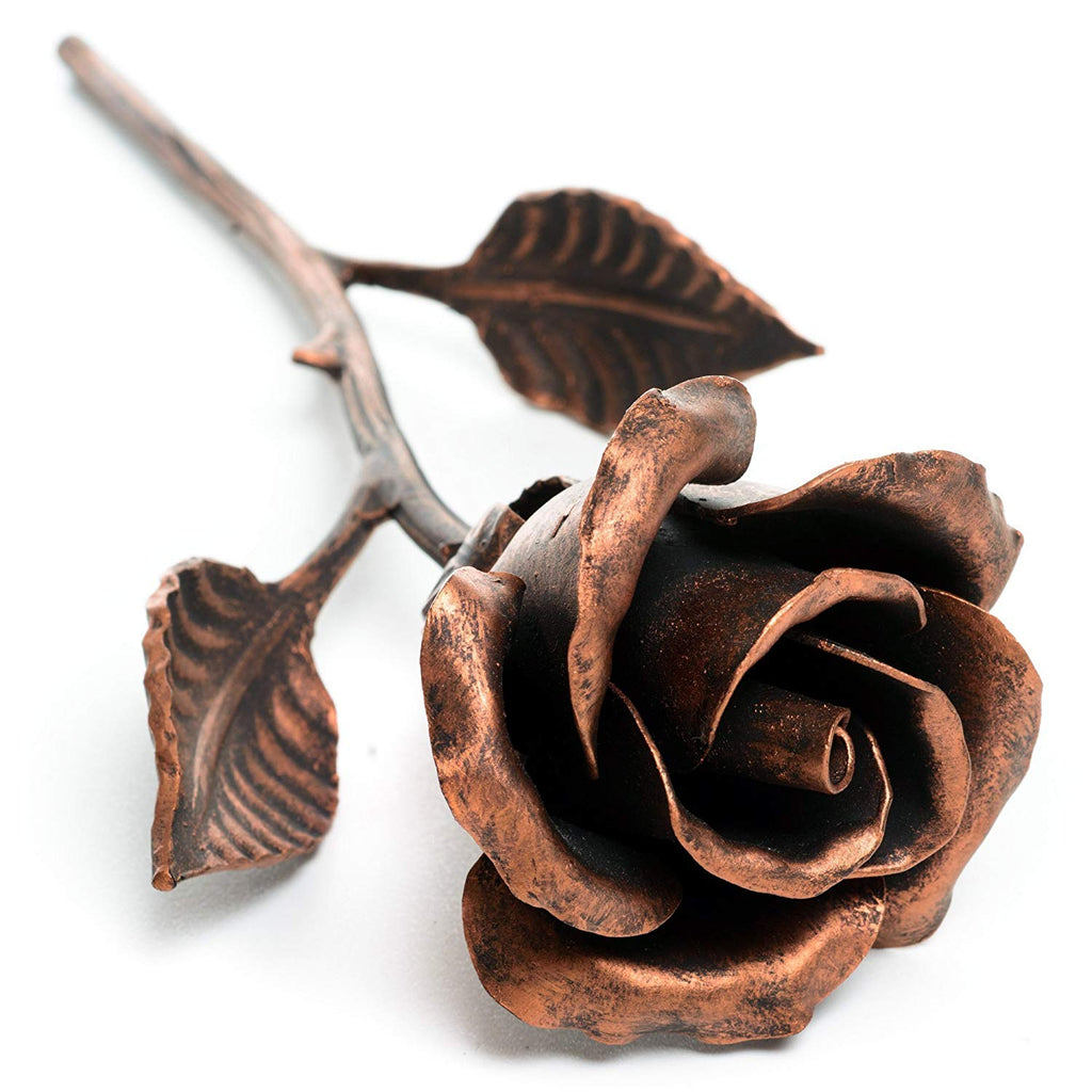 Copper Art- 7th Anniversary Copper Rose
