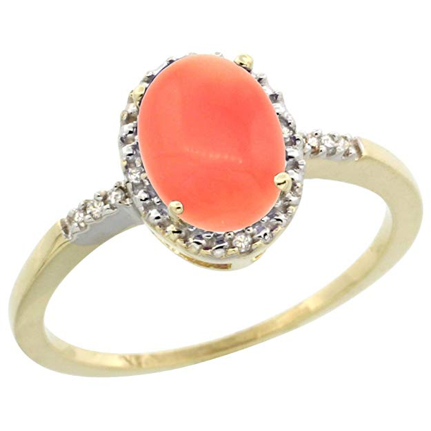 Coral Ring- 35th Anniversary Ring