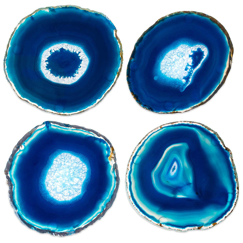 Geode Crystal Drink Coasters