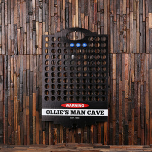 Beer Cap Holder For Man Cave