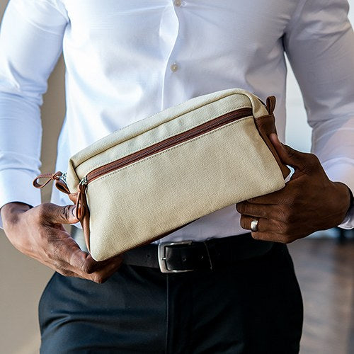 Men's Personalized Toiletry Bag- Travel Bag