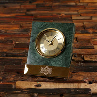 Personalized Marble Clock