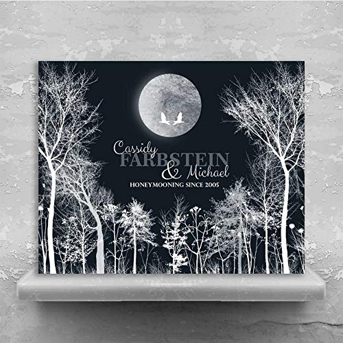 Personalized Tin Art Print