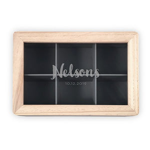 Personalized Wood Keepsake Box