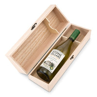 Personalized Wood Wine Holder