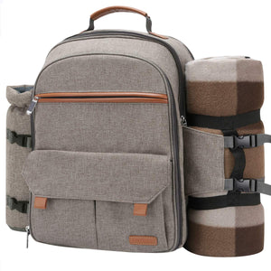 Picnic Backpack- Travel Picnic Set