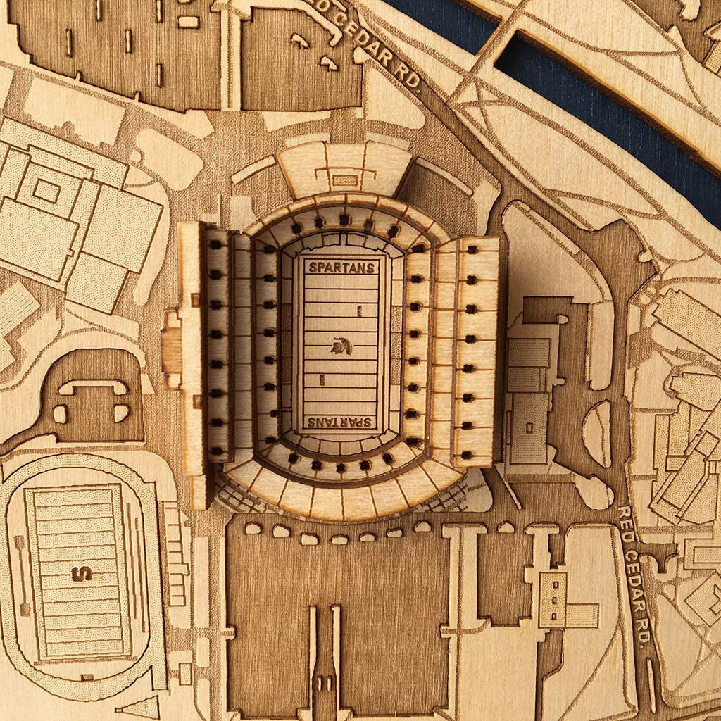 Stadium Map Art- 3D Stadium Art