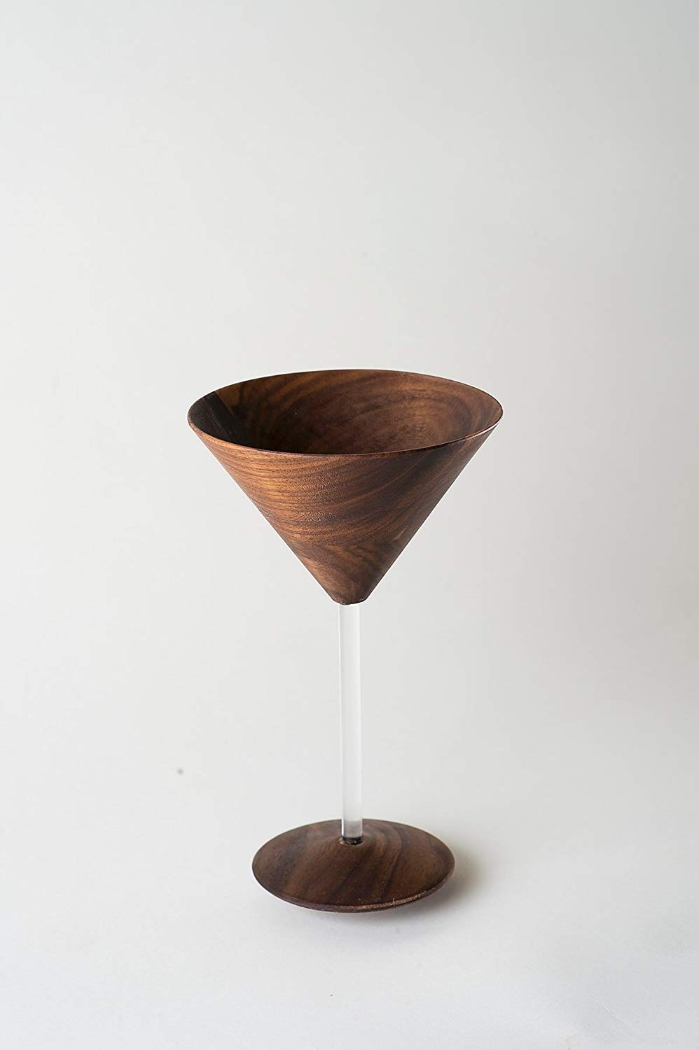 Wood Martini Glass