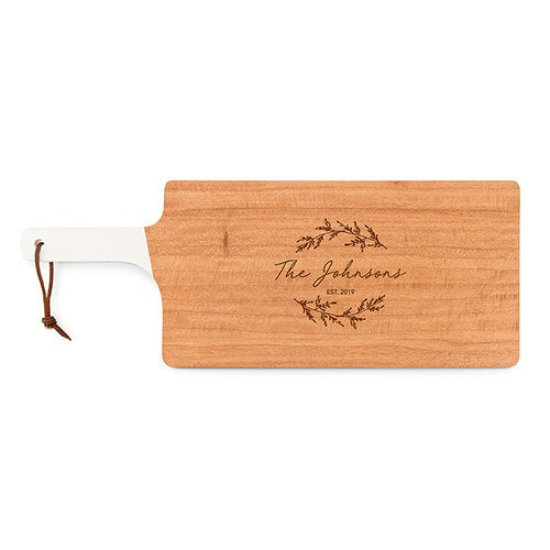 Wooden Cutting Board and Serving Tray- Personalized