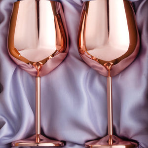 Copper Wine Glass