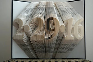 Folded Book Art Patters