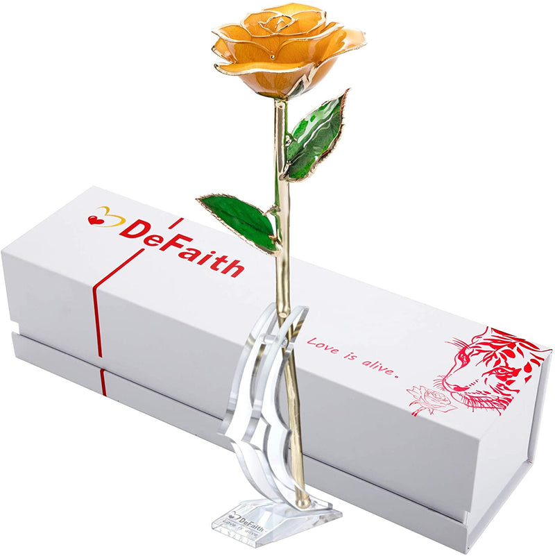 Forever Rose- 24k Gold Dipped Rose