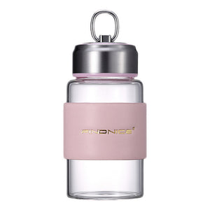 Fashionable Glass Water Bottle