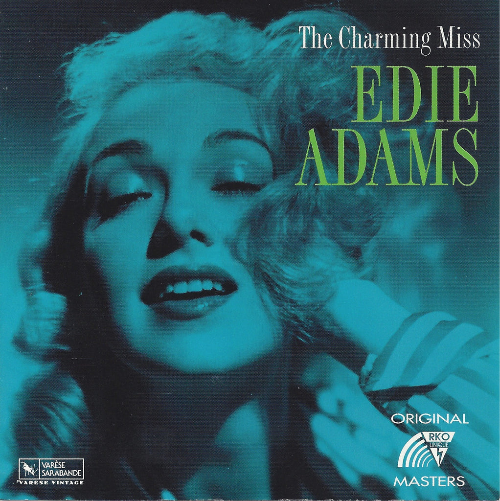 The Charming Miss Edie Adams CD (Out of Print)