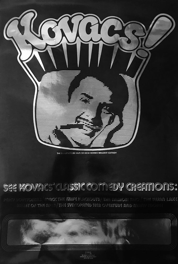 Kovacs! Documentary Poster (Fair Condition)