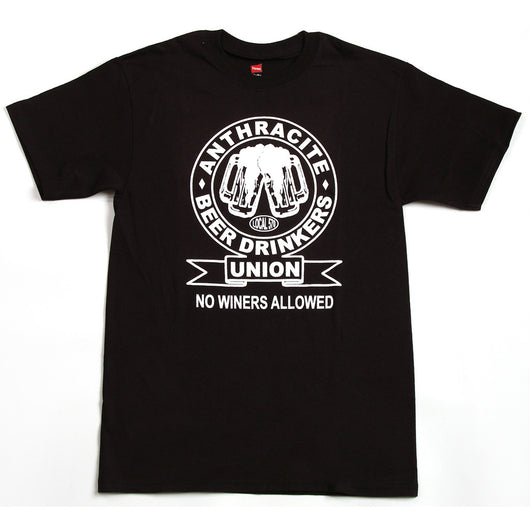 Anthracite Beer Drinker's Union T-Shirt