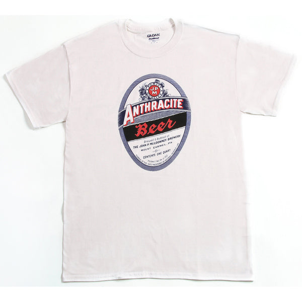 Anthracite Beer Label T-Shirt