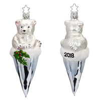 Frosty Bear- 2018 Annual ornament