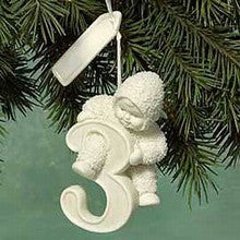 Snowbaby ornament