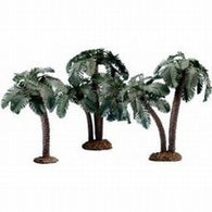 Multi Trunk Palms, 3 pc.