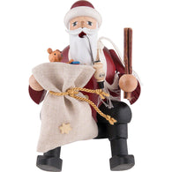 Christmas Smoker - Santa Claus sitting