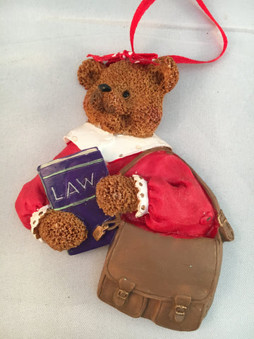 Lady Lawyer Ornament
