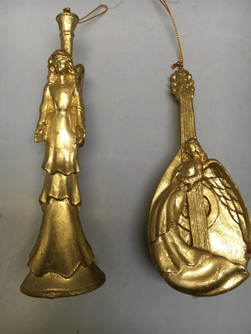 Gold Angel on Instrument