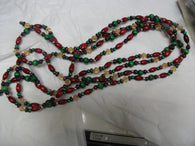 Small Wood Bead Garland